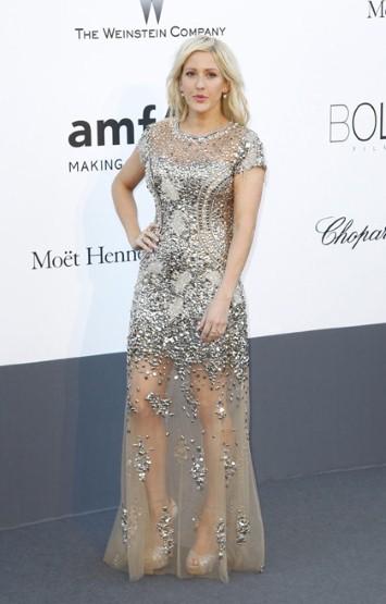 Ellie Goulding на фестивале в Каннах