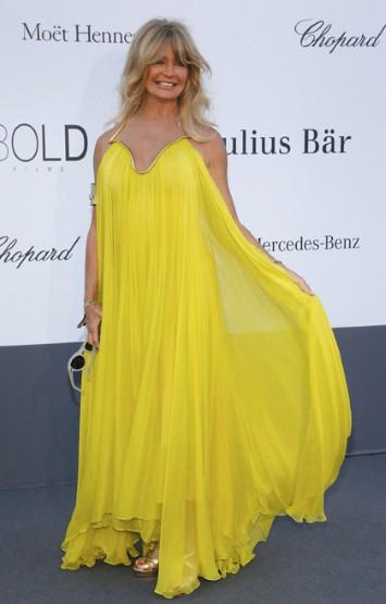 Goldie Hawn на фестивале в Каннах