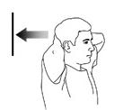 упражнения для шеи наклоны с упором назад