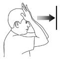 упражнения для шеи наклоны с упором вперед