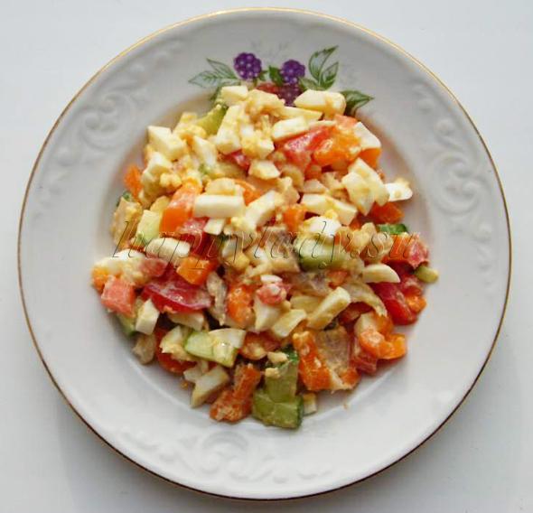 салат диетический