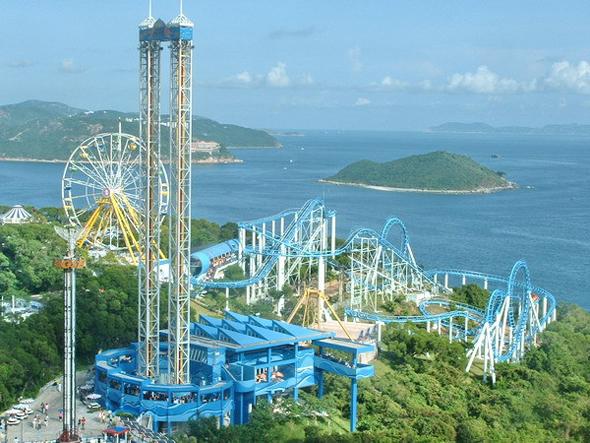 Гонконг Океанический парк фото