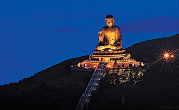 Гонконг статуя Будды фото