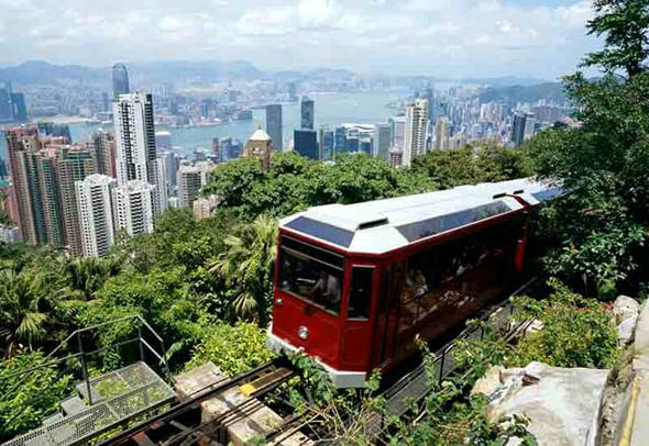 Гонконг пик Виктории фото