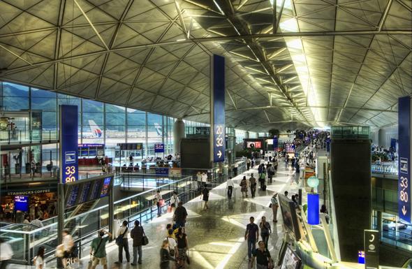 аэропорт Гонконга фото