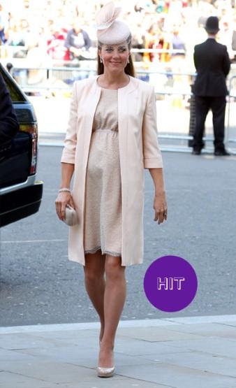 Кейт Миддлтон в розовом платье фото