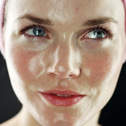 жирная кожа лица фото