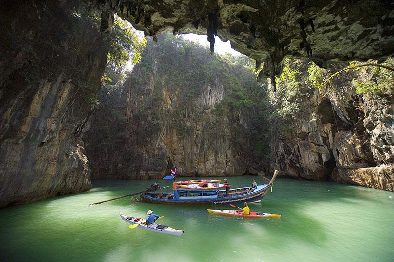 Таиланд залив Пхангнга фото