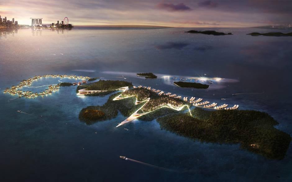 Indonesia остров Фэнтези