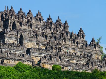 Индонезия остров Ява храм Боробудур