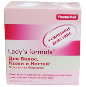 Витамины для волос Lady's formula Для волос и ногтей