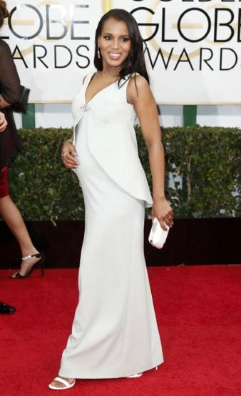 Керри Вашингтон беременная фото