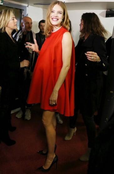 Наталья Водянова беременная фото