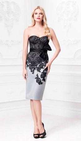 Вечернее платье от Зака Позена