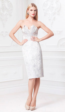 Зак Позен вечернее платье