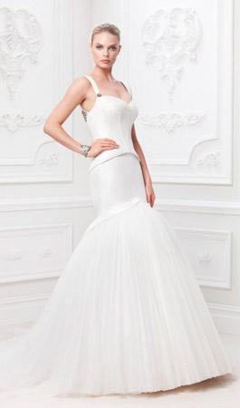 Вечернее платье с топом