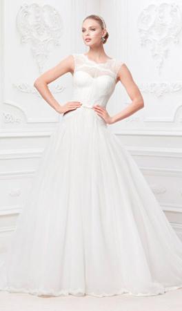Свадебное платье от Зака Позена