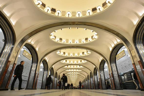 Какое метро самое красивое в мире