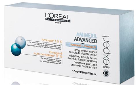 Ампулы против выпадения волос L'Oreal Professional Aminexil Advanced