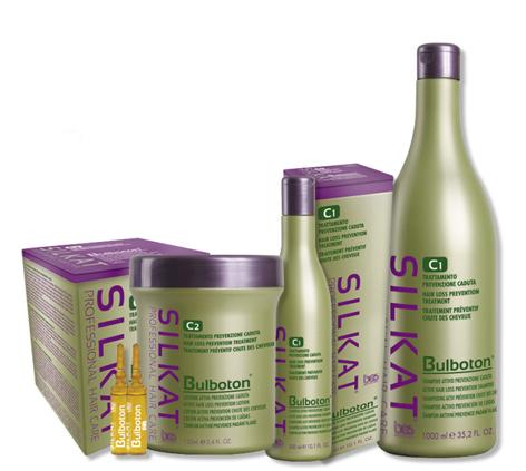 Активный лосьон от выпадения волос SILKAT Bulboton