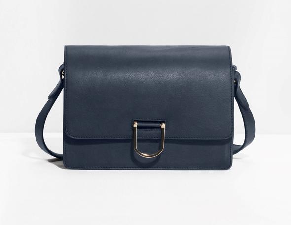синяя женская сумка Other Stoies