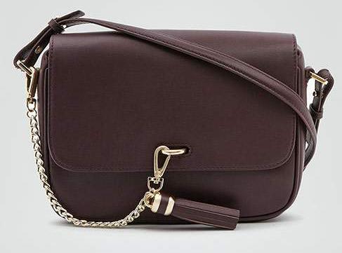 коричневая женская сумка Reiss