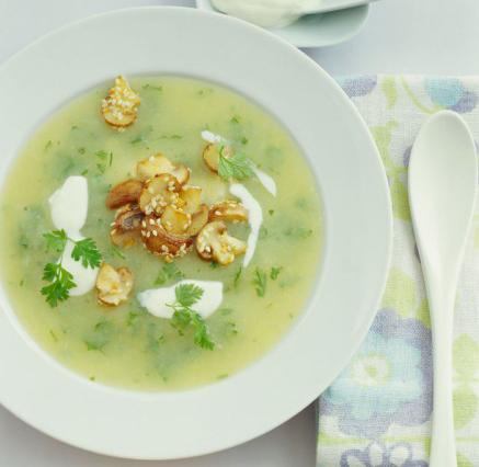 суп из кервеля