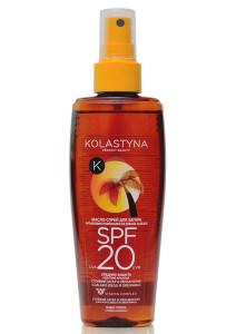 Масло - спрей для загара SPF 20 Kolastyna