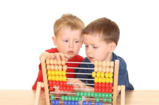 обучение детей счету