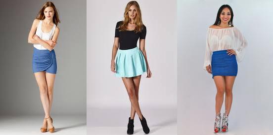 юбки для невысоких