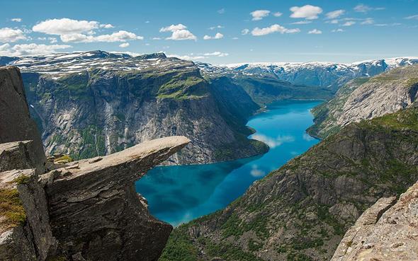 Норвегия счастливая страна