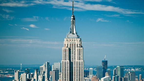 Эмпайр-стейт-билдинг Нью-Йорк