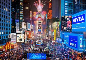 Таймс-сквер Нью-Йорк