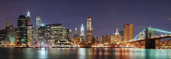 Нью-Йорк с Бруклин - Хайтс - Променад