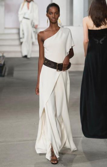Ральф Лорен белое платье 2016