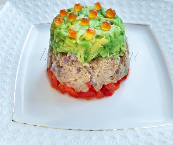 вкусный и простой салад