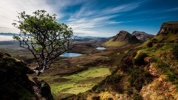 Шотландия озеро
