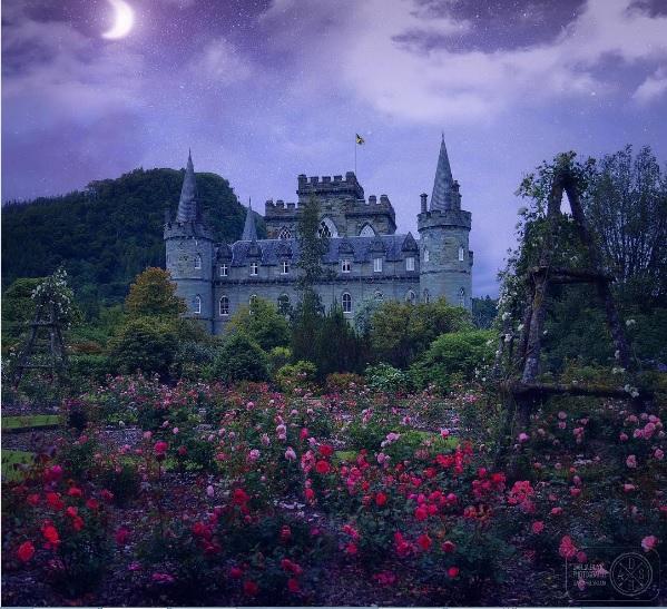 Шотландия замок